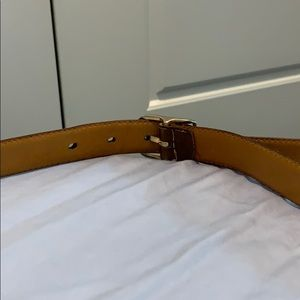 Dior Accessories - Christian Dior vintage leather belt size 34 unisex
